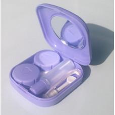 Контейнер для Линз в Походной Коробке (Фиолетовый)