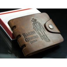 Бумажник Мужской Коричневого Цвета