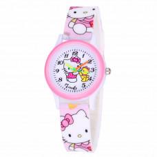 "Детские Часы ""Hello Kitty"" (Розовые)"