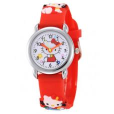 "Детские Часы ""Hello Kitty"" (Красные)"