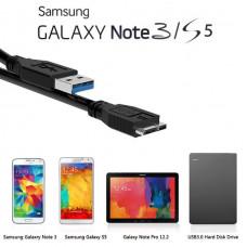 Дата Кабель Зарядка для Galaxy S5, Note 3, Note Pro 12.2