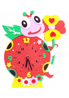 """Детский набор для Творчества и Развития - Часы """"Черепаха"""""""