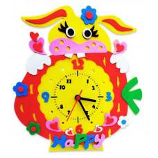 """Детский набор для Творчества и Развития - Часы """"Заяц"""""""