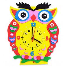 """Детский набор для Творчества и Развития - Часы """"Сова"""""""