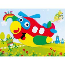 """Детский набор для Творчества и Развития """"Самолет"""""""