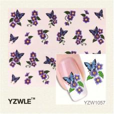 Набор Наклеек Для Ногтей yzw-1057
