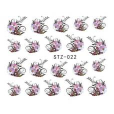 Набор Наклеек Для Ногтей stz-022